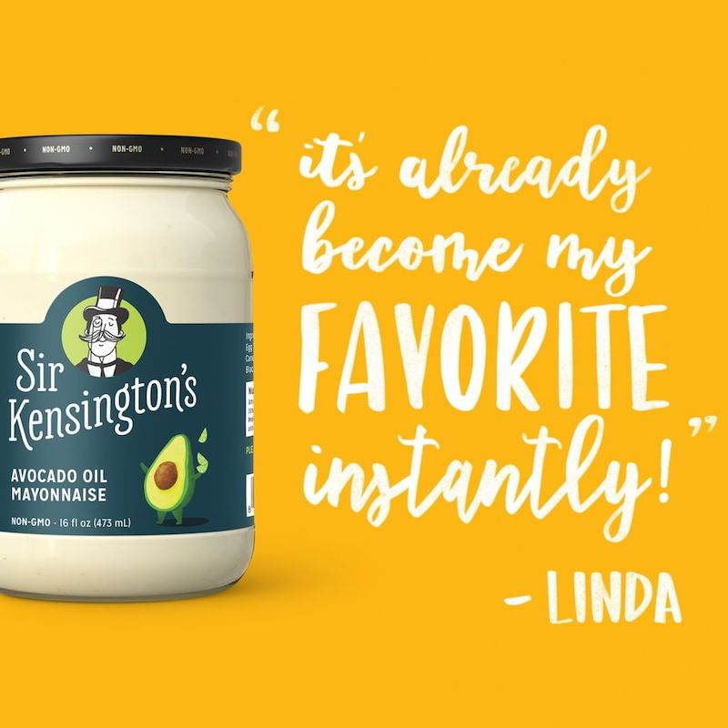 Avocado Oil Mayonnaise- Sir Kensington's - Certified Paleo & KETO Certified by the Paleo Foundation