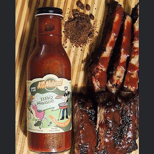 Backyard Blend Paleo BBQ sauce with coffee rub - KC Natural - Paleo Friendly - Paleo Foundation