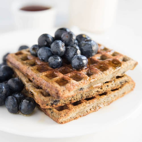 Blueberry & Waffles - Kitchfix - Certified Paleo - Paleo Foundation