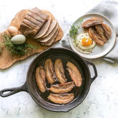 Breakfast Spread with Bacon - Pete's Paleo - Certified Paleo - Paleo Foundation
