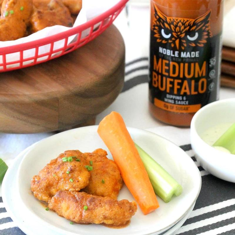 Buffalo Sauce Medium - The New Primal - Certified Paleo by the Paleo Foundation