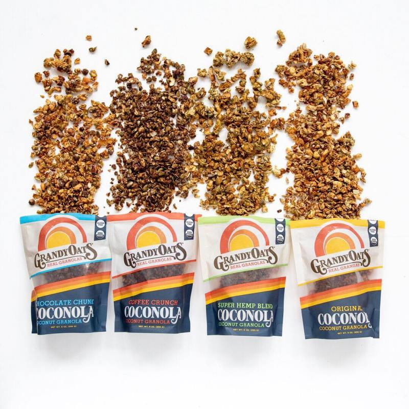 Coconola Lineup square - GrandyOats - Certified Paleo Friendly - Paleo Foundation