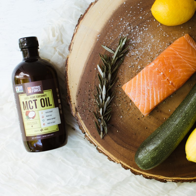 Coconut MCT Oil 3 - Natural Force - Certified Paleo, KETO Certified - Paleo Foundation