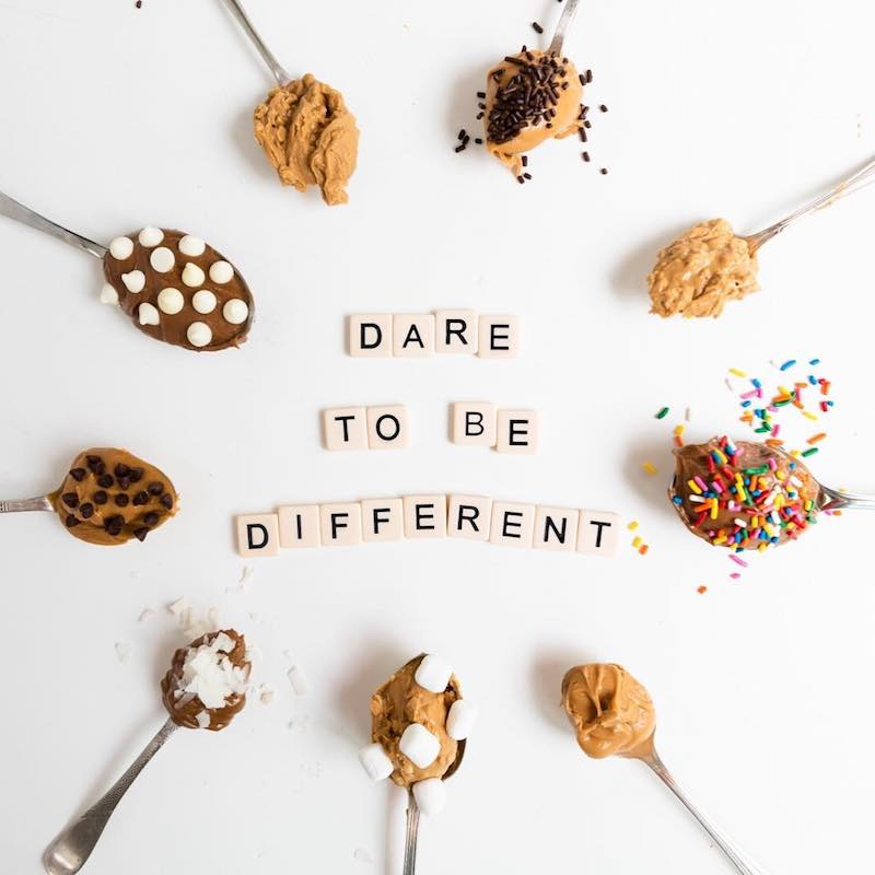 Dare to be different - Barney Butter