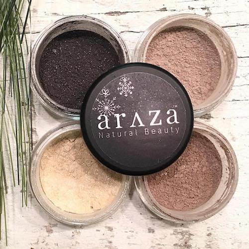 Eye Powder - Araza Beauty - Certified Paleo - Paleo Foundation