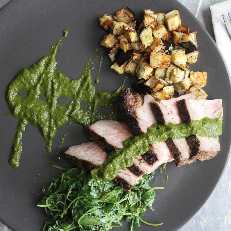 Grilled Chimichurri Steak - Pete's Paleo - Certified Paleo - Paleo Foundation