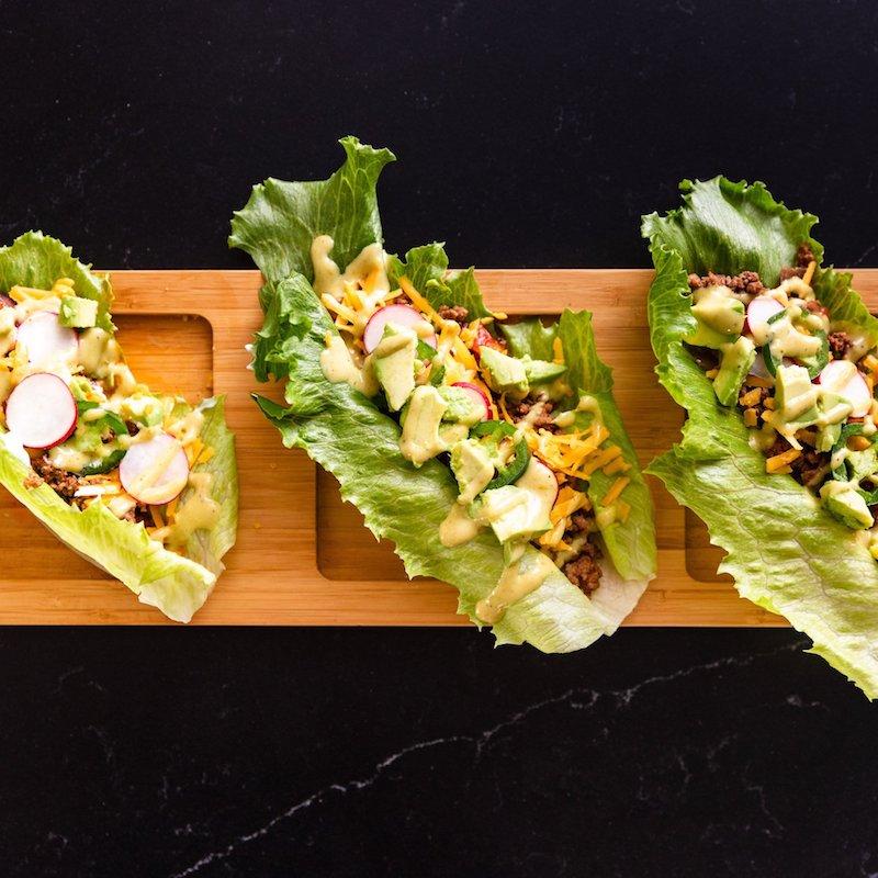 Keto-Friendly Paleo Taco Lettuce Wraps - Paleo Powder Seasonings - Certified Paleo - Paleo Foundation