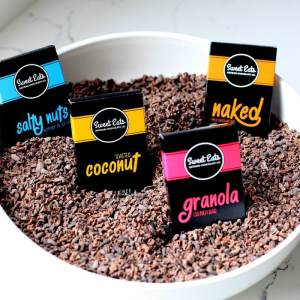 Paleo and Vegan Certified Artisanal Chocolate from Get Sweet Eats Chocolate