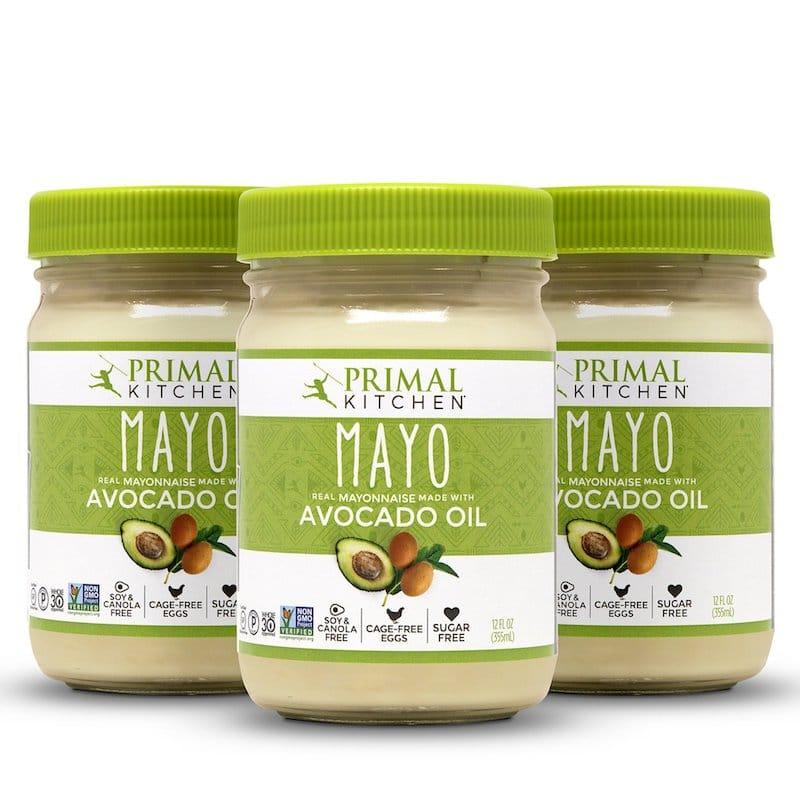 Primal Kitchen Soy-Free Avocado Mayo Tri-Pack Soy Free Sugar Free Mayo Certified Grain Free Gluten Free