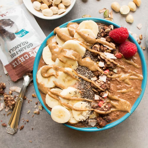 Smoothie bowl & Granola - Kitchfix - Certified Paleo - Paleo Foundation