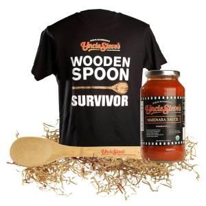 Wooden Spoon Survivor Uncle Steve's Certified Paleo Pasta Sauces