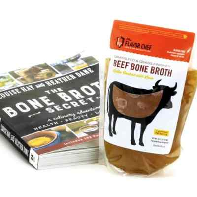 Beef Bone Broth - The Flavor Chef Bone Broths - Chef Lance Roll is considered by many to be an expert in the industry of Bone Broth production. Our goal is to provide you with the highest quality organically sourced, Fresh-Frozen Bone Broths on the market. Let us know how we're doing! #certifiedpaleo #aipfriendly #aip #bonebroth