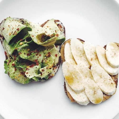 Avocado Slices & Banana Slices - Barely Bread - Certified Paleo, KETO Certified - Paleo Foundation
