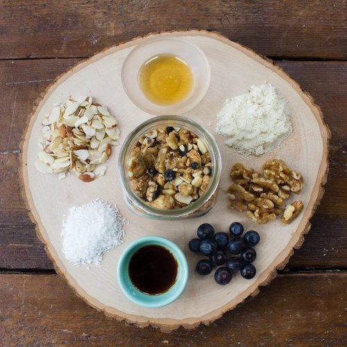 Blueberry Granola 2 - Within/Without - Certified Paleo - Paleo Foundation