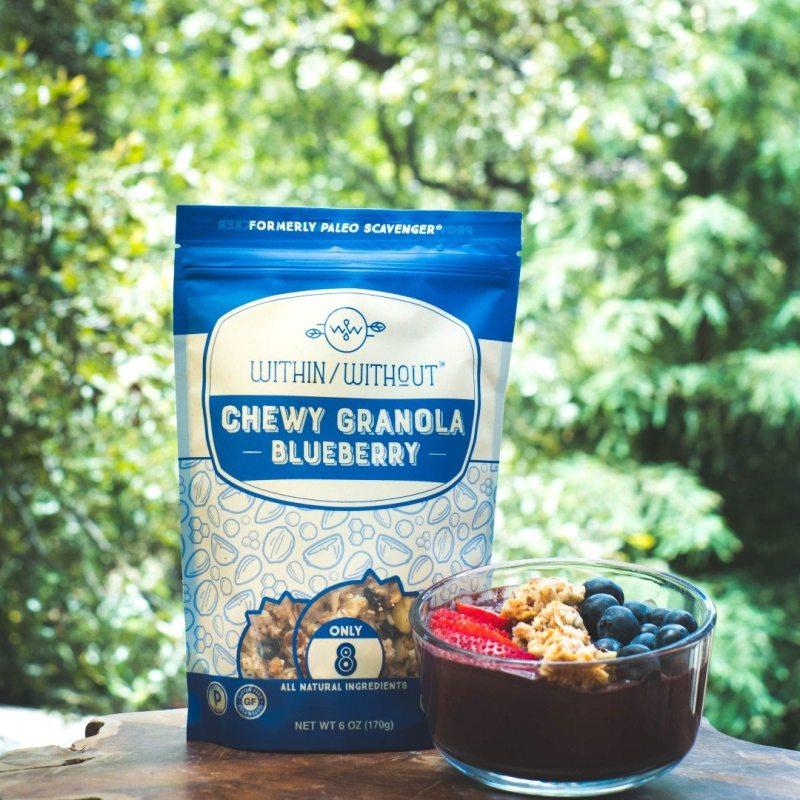 Blueberry Granola - Within/Without - Certified Paleo, Paleo Vegan - Paleo Foundation