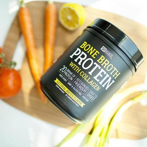 Bone Broth Protein - Sports Research - Paleo Friendly, Keto Certified - Paleo Foundation