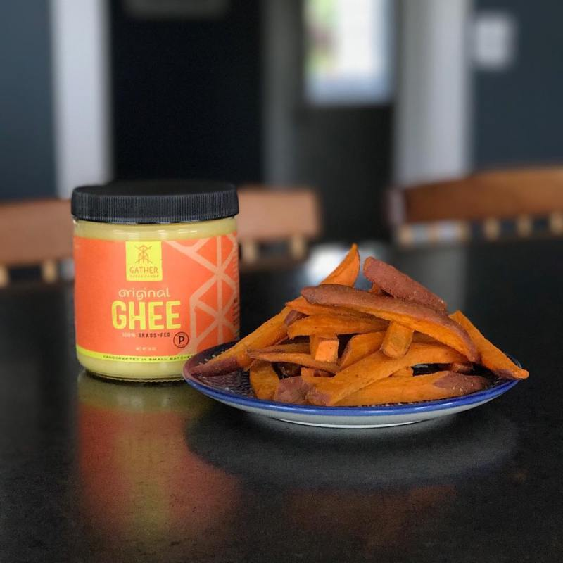 Brown Butter Ghee + Sweet Potato - Gather Superfoods - Certified Paleo, Keto Certified - Paleo Foundation