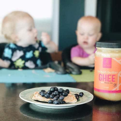 Brown Butter Ghee + YucanCrunch w: Blueberries - Gather Superfoods - Certified Paleo, Keto Certified - Paleo Foundation