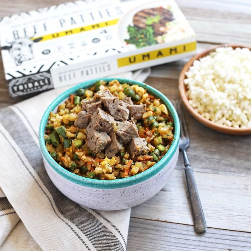 Cauliflower Fried Rice - Tribalí Foods - Certified Paleo - Paleo Foundation