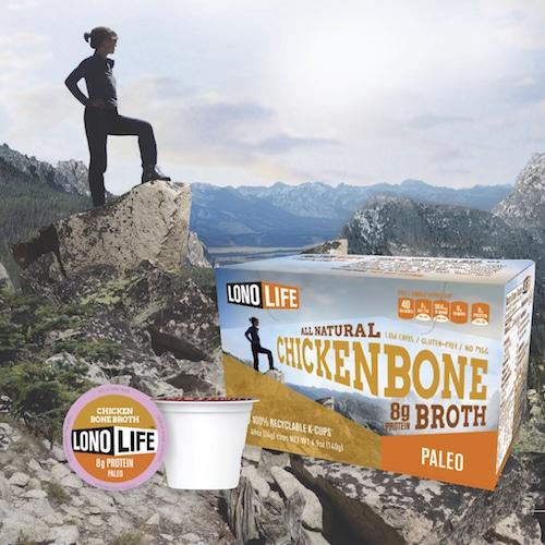 Chicken Bone Broth - Lonolife - Paleo Friendly - Paleo Foundation
