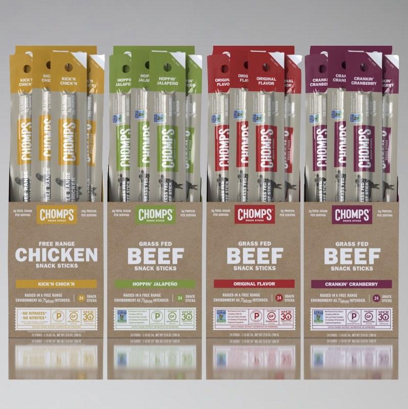 Chomps Snack Sticks + Venison - Chomps - Certified Paleo - Paleo Foundation