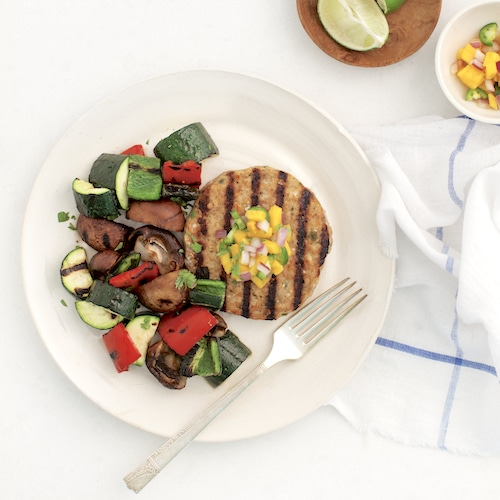 Grilled Veggies edit - Tribalí Foods Organic 100% Grass-fed Beef - Certified Paleo - Paleo Foundation