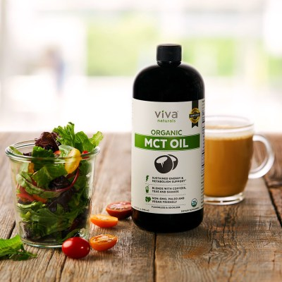 MCT Oil - Viva Naturals - Certified Paleo, KETO Certified by the Paleo Foundation