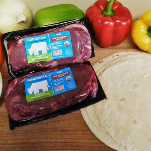 Organic Grass-Fed Beef Ground Beef Brick - Panorama Meats - Certified Paleo, Paleo Approved - Paleo Foundation