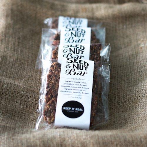 Seed + Nut Bars 2 - Keep It Real Food CO - Certified Paleo - Paleo Foundation