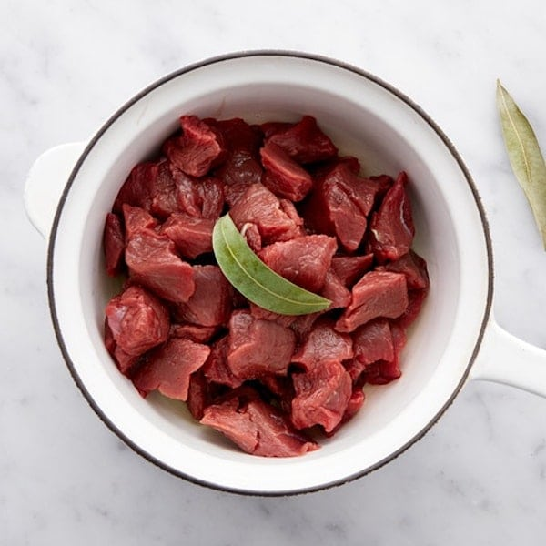 The Honest Bison Certified Paleo Approved Grass Fed Bison Meat Cubes