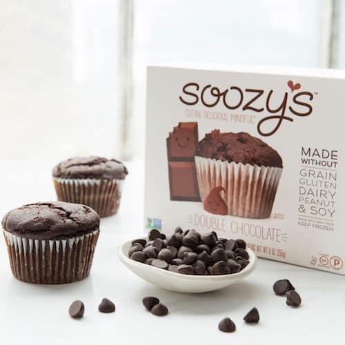 Double Chocolate Muffins - Soozy's Muffins - Paleo Friendly - Paleo Foundation