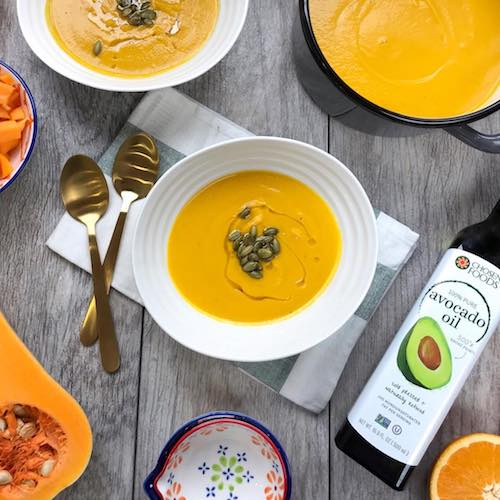 Butternut squash & 100% Pure Avocado Oil - Chosen Foods - Certified Paleo, KETO Certified - Paleo Foundation
