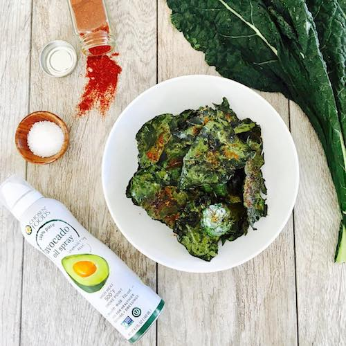 Kale Chips made with Avocado Oil Spray - Chosen Foods - Certified Paleo, KETO Certified - Paleo Foundation