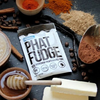 Phat Fudge ™ Real Ingredient Performance Food Keto and Paleo Friendly Certified by the Paleo Foundation