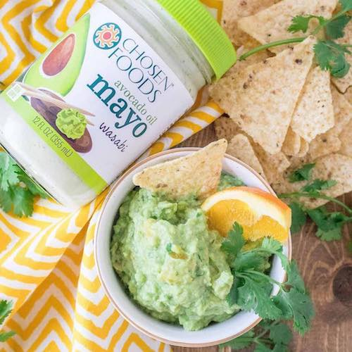 spicy citrus wasabi guacamole - Chosen Foods - Certified Paleo, KETO Certified - Paleo Foundation