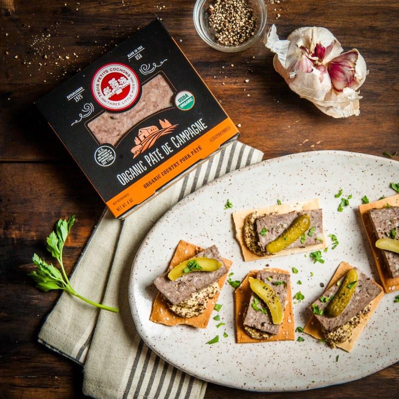Les Trois Petits Cochons - Three Little Pigs - Organic Pâté de Campagne Main - Certified Paleo - Paleo Foundation
