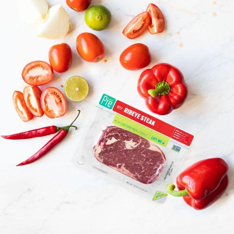 Ribeye 10 oz. Beef Steaks 2 - Pre Brands - Certified Paleo, KETO Certified by the Paleo Foundation