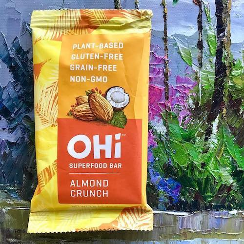 Almond Crunch - OHI Food Co. - Certified Paleo, PaleoVegan - Paleo Foundation