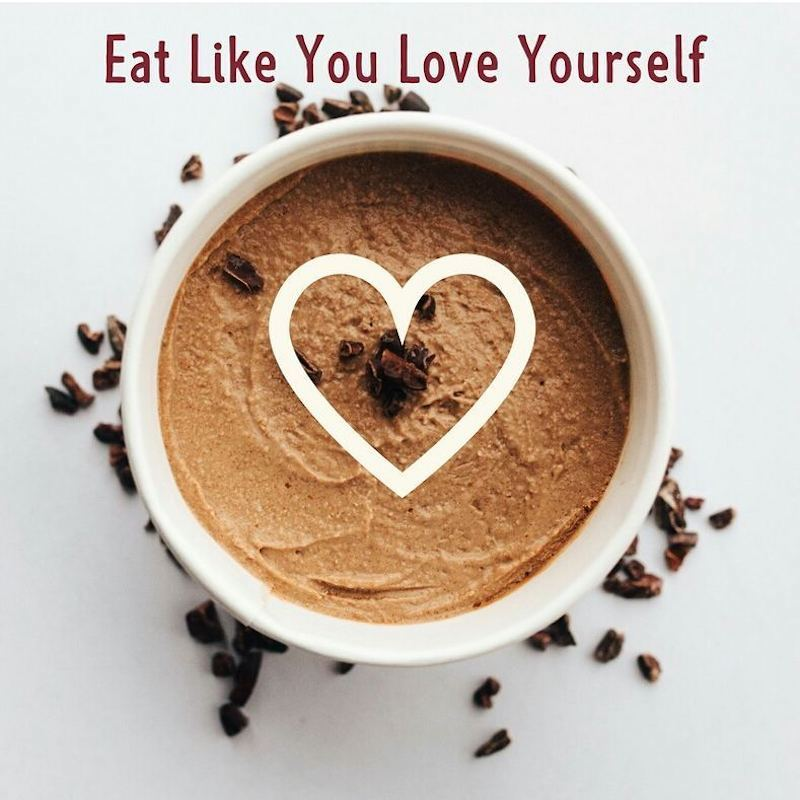 Eat Like You Love Yourself Coffee MUD - EAT MUD Co - Certified Paleo - Paleo Foundation