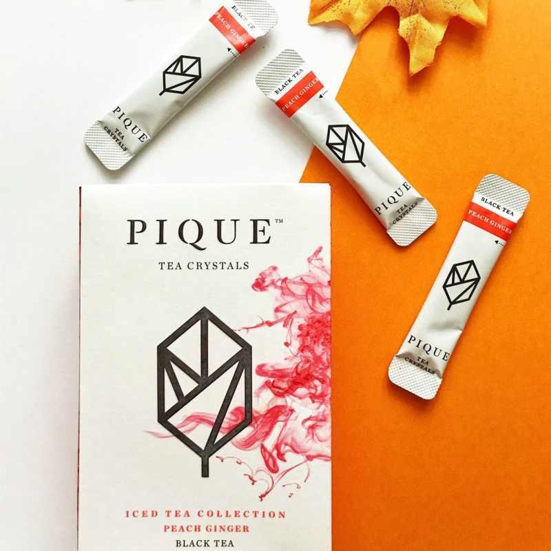 Peach Ginger Black Tea 4 - Pique Tea - Paleo Friendly, KETO Certified - Paleo Foundation