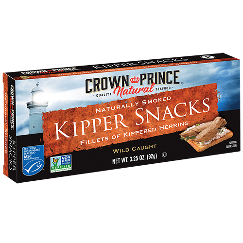Naturally Smoked Kipper Snacks - Naturally Smoked - Crown Prince Seafood - Certified Paleo - Paleo Foundation