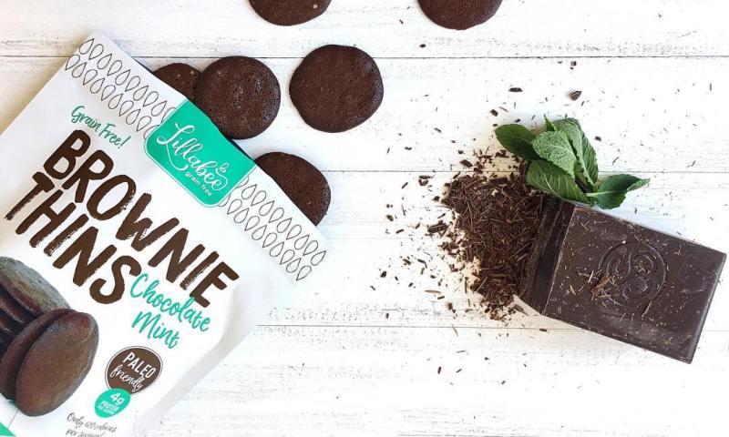 Chocolate Mint Brownie Thins 1 - Lillabee Baking - Paleo Friendly - Paleo Foundation 2