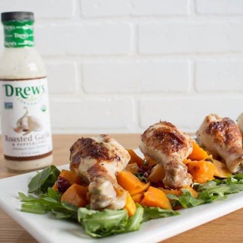 Roasted Garlic Peppercorn + Chicken - Drew's Organics - Certified Paleo - Paleo Foundation