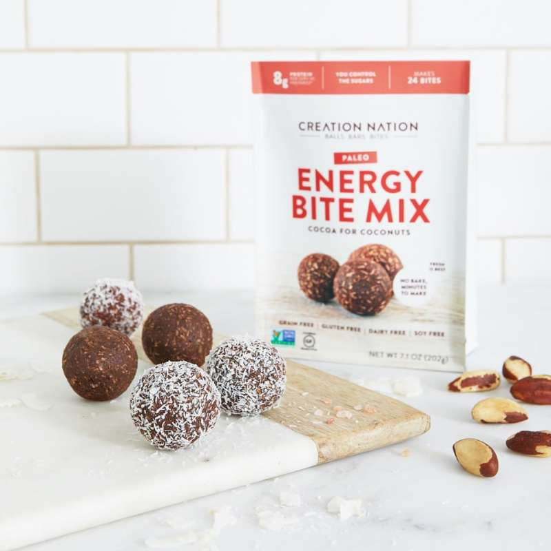 Cocoa for Coconuts Energy Bite Mix - Creation Nation - Certified Paleo, KETO Certified - Paleo Foundation