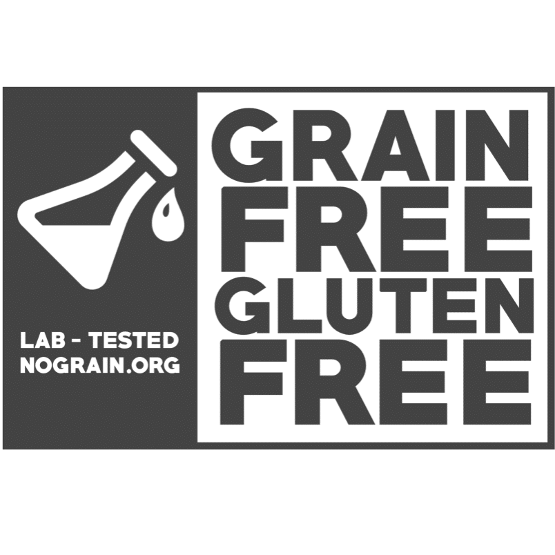 grain free gluten free certification for products