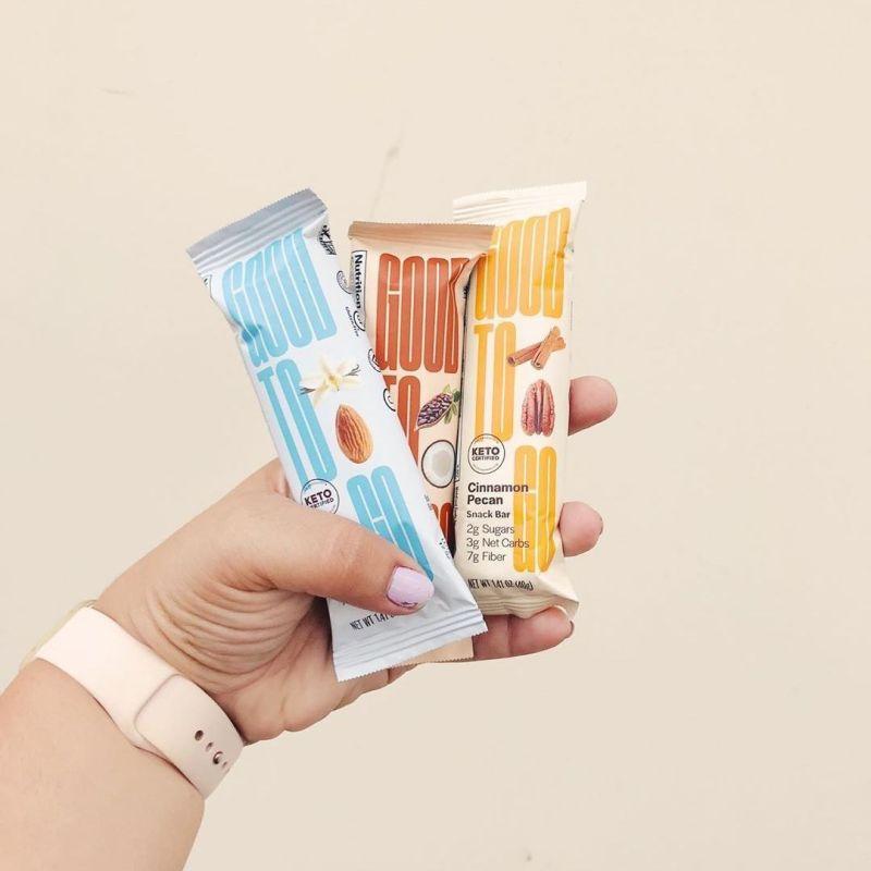 Snack Bars Spread - GoodTo Go Snacks - KETO Certified by the Paleo Foundation