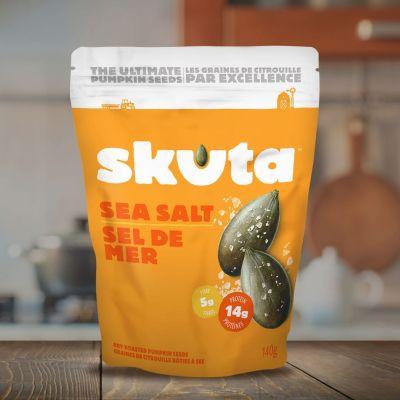 Classic Sea Salt Pumpkin Seeds - Skuta Pumpkin Co. - Certified Paleo - Paleo Foundation