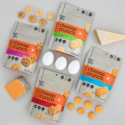 Lineup Cheese Crunch - HighKey Foods - KETO Certified - Paleo Foundation
