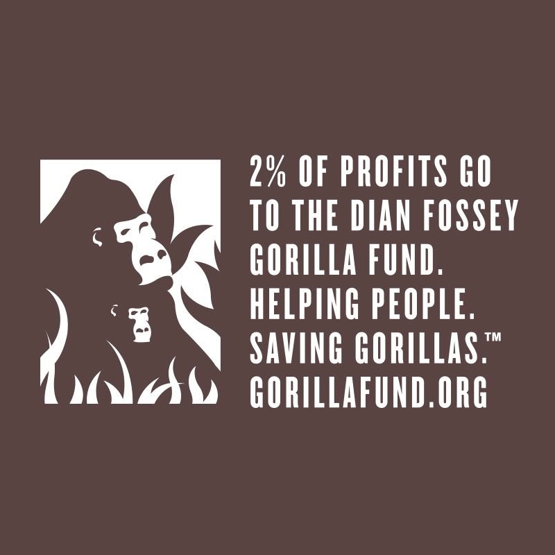 Dian Fossey Gorilla Fund - Gorilly Goods - Evolve Snacking - Certified Paleo by the Paleo Foundation