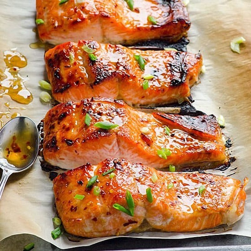 Sweet Stove Top Salmon with Xylitol Sweetener - Health Garden of USA - Certified Paleo, PaleoVegan, & KETO Certified by the Paleo Foundation